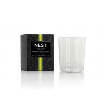 Lemongrass & Ginger Votive Candle by Nest