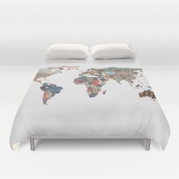Louis Armstrong Told Us So Duvet Cover by Bianca Green