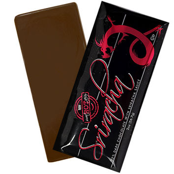 SRIRACHA DARK CHOCOLATE BAR