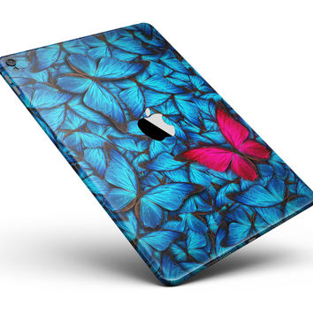 "Contrasting Butterfly Full Body Skin for the iPad Pro (12.9"" or 9.7"" available)"