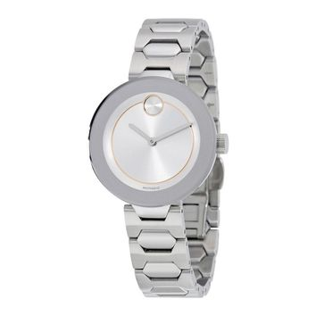 Movado Bold Silver Dial Ladies Watch 3600381