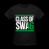 CLASS OF SWAG (2016) Green with bands T-Shirt | Spreadshirt | ID: 10919659