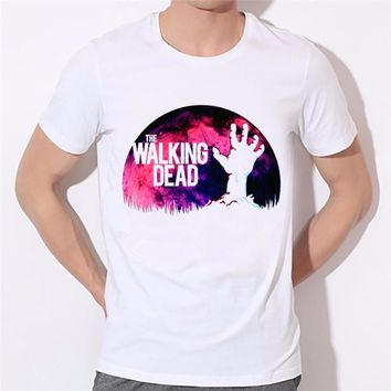 Ready Stock,Men's Movie the Walking Dead Funny Graphic T-shirts Women Funny Negan Tops Male Clothing Unisex Shirts,HCP1738