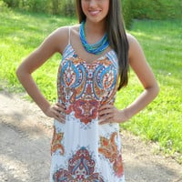Paisley Perfection Maxi Dress
