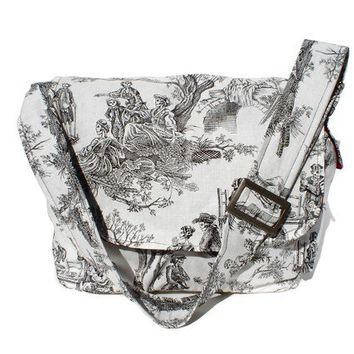 Messenger Bag - Day of the Dead Inspired Toile - MB502 [HMTA] - $40.00 : Gorey Details, - Edward Gorey, Tim Burton, Alice, Poe, gothic, horror, halloween, vampire, bats, skull, zombie, dragon, fairy, victorian