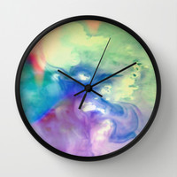 Rainbow Dancer Wall Clock