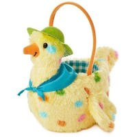 Mama Hen Plush Easter Basket, 13""