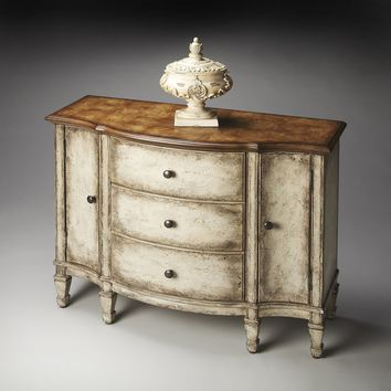 Sheffield Toasted Mashmallow Console Cabinet by Butler Specialty Company 0674259