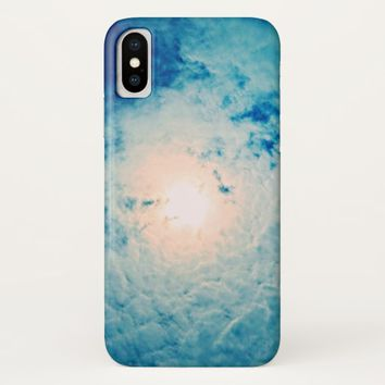 Sunny Summer Skies iPhoneX Case