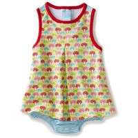 Zutano Baby-girls Infant Mushrooms A-line Jumper $29.50
