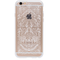 Floral Lace iPhone 6 Clear Case by RIFLE PAPER Co. | Imported