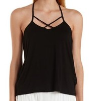 Strappy T-Back Swing Tank Top by Charlotte Russe
