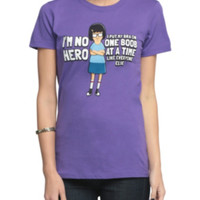 Bob's Burgers I'm No Hero Girls T-Shirt