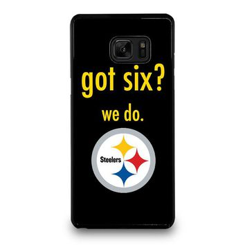 PITTSBURGH STEELERS GOT SIX Samsung Galaxy Note 7 Case Cover