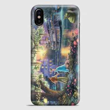 Princess Frog Disney Painting iPhone X Case