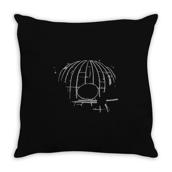 death skull Throw Pillow
