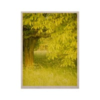 "Iris Lehnhardt ""Summer"" Tree Green KESS Naturals Canvas (Frame not Included)"