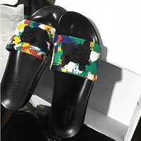Versace slippers camouflage 2 colors