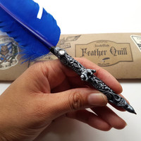 Maison DuBois Quill - Deluxe Ballpoint Feather Writing Pen - New World Magischola