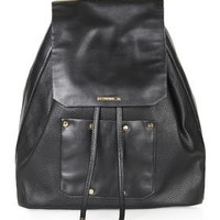Smooth Stud Backpack - Black