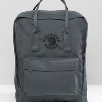 Fjallraven Re-Kanken Slate Backpack at asos.com