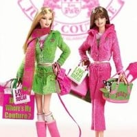 2004 Gold Label JUICY COUTURE BARBIE Collectible Dolls