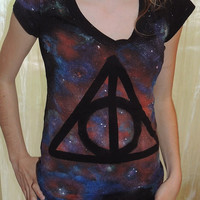 Deathly Hallows Galaxy Shirt