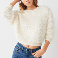 Out From Under Quinn Fuzzy Sweatshirt | Urban Outfitters