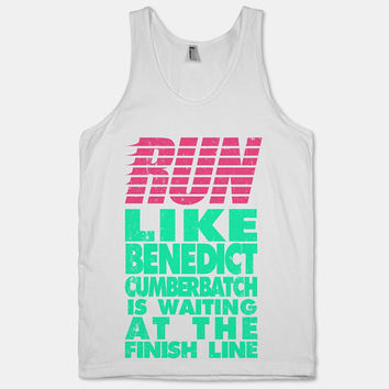 Run Like Benedict Cumberbatch Is Waiting At The by ActivateApparel