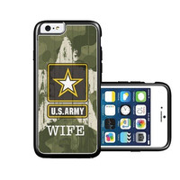 RCGrafix Brand Us Army Wife Camo iPhone 6 Case - Fits NEW Apple iPhone 6