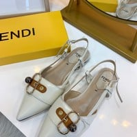 Fendi Retro Beautiful Sandals