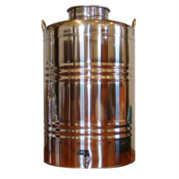 Superfustinox Stainless Steel Water Dispenser Fusti 100 Liter 26.4 Gal