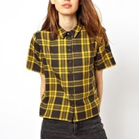 ASOS Shirt in Bright Check - Multi