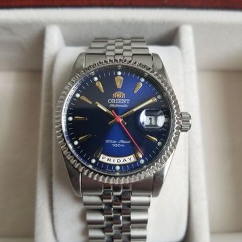 Orient Rolex President Day-Date Homage Automatic Watch (No Box)