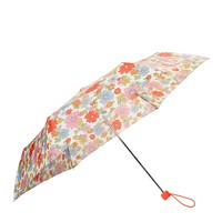 Fulton | Cath Kidston Superslim 2 Petal Print White Umbrella at ASOS
