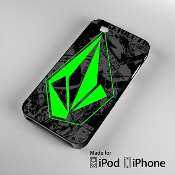 Volcom Stone Art A0853 iPhone 4S 5S 5C 6 6Plus, iPod 4 5, LG G2 G3, Sony Z2 Case