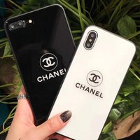 Chanel quicksand shining iPhone Phone Cover Case For iphone 6 6s 6plus 6s-plus 7 7plus