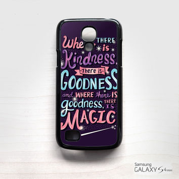 have courage and be kind cinderella for Samsung Galaxy Mini S3/S4/S5 phonecases