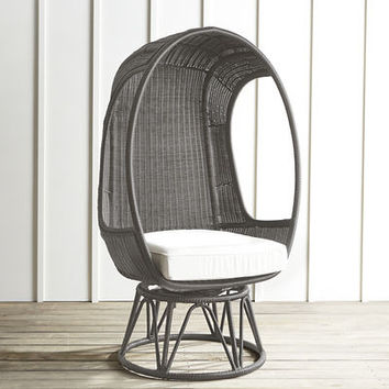 Gray Spinasan Swivel Chair
