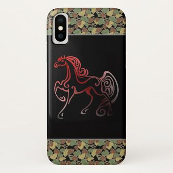 Horse Tails iPhone X Case