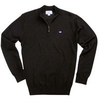Southern Tide Men's 1/4 Zip Heathered Pullover