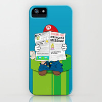 Mario iPhone Case by Altay | Society6