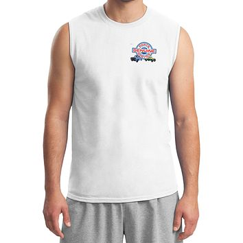 Ford Trucks T-shirt Genuine Parts Service Pocket Print Muscle Tee