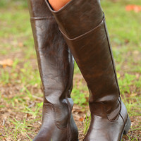 In Too Deep Boots: Cherry Brown