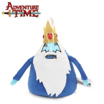 Blue 15cm Adventure Time Plush Keychain Toys THE ICE KING Soft Stuffed Dolls Toy Pendant Party Supplies