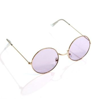 Light Purple Circle Sunnies