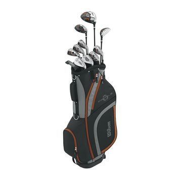 Wilson Profile XLS Right Hand Golf Club & Bag Set - Senior (Sand/Graphite)