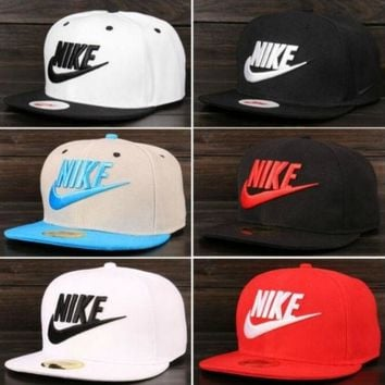 DCCKIG3 NIKE MEN WOMEN'S SNAPBACK HAT BASEBALL CAP HIP-HOP CAPS