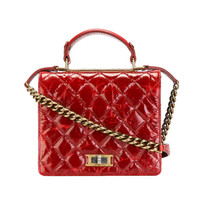 Chanel Quilted Box Tote
