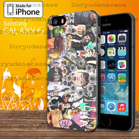 5 Seconds of Summer collage (5sos)  For Samsung Galaxy S3 / S4 / S5 and IPhone 4 / 4S / 5 / 5S / 5C Case